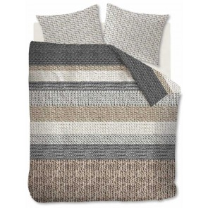 Beddinghouse Dekbedovertrek Flanel Valdermar Grey