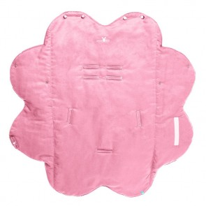 Wallaboo Wrapper Suède Nore Sweet Pink