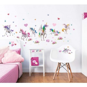 Walltastic Muurstickers Magical Unicorn