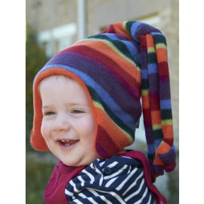 Buggy Snuggle Kindermuts Warm Stripe Loopy M