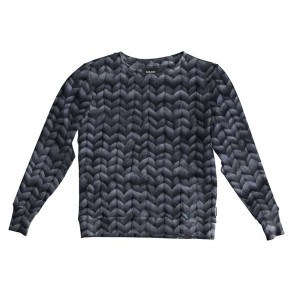 Snurk Sweater Woman Twirre Steel Grey