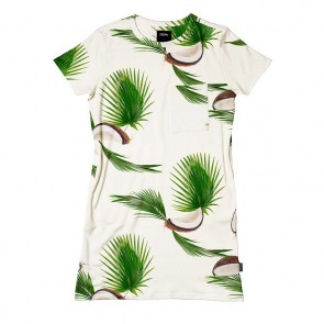 Snurk T-shirt Dress Coconuts
