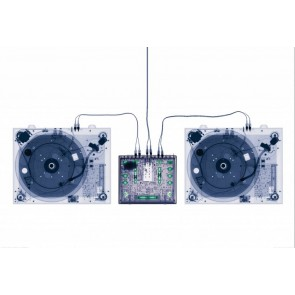 X-ray Platenspeler DJ Fotobehang (Wallpaper)