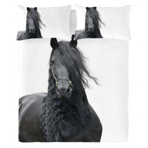 Fries Paard Dekbedovertrek by ZaZa Bedding