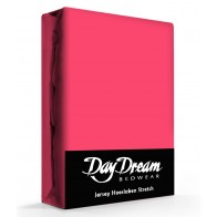 Day Dream Jersey Hoeslaken Fuchsia-90 x 200 cm