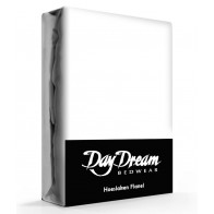 Flanellen Hoeslaken Wit Day Dream