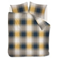 Beddinghouse dekbedovertrek Ecuador Gold Flanel