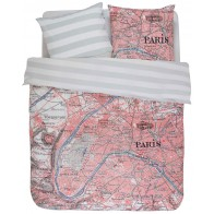 Covers & Co Dekbedovertrek Paris Citymap