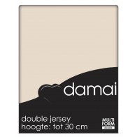 Damai Multiform Double Jersey Hoeslaken Nougat