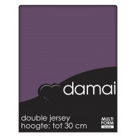 Damai Multiform Double Jersey Hoeslaken Purple