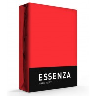 Essenza Mako Jersey Hoeslaken Red