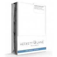 Heckett Lane Hoeslaken Topper Percal White