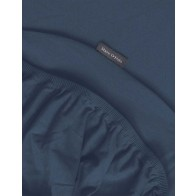 Marc O'Polo Jersey Hoeslaken Navy