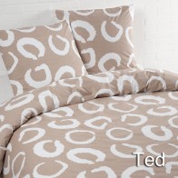 Day Dream Dekbedovertrek Ted Beige