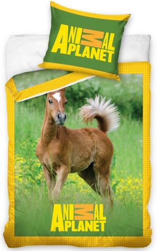 Dagaanbieding - Dekbedovertrek Veulen Animal Planet dagelijkse koopjes