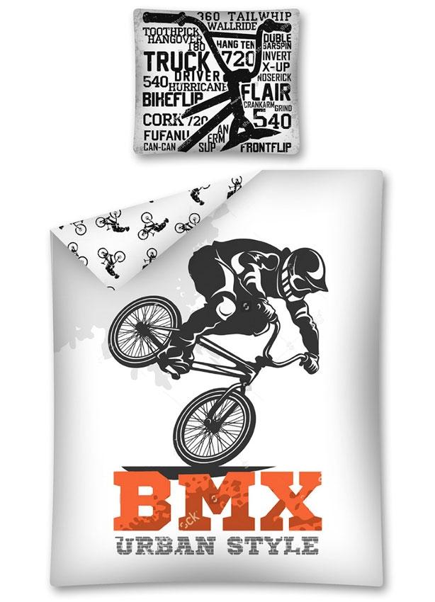 Dagaanbieding - Dekbedovertrek BMX Fiets Urban Cross dagelijkse koopjes
