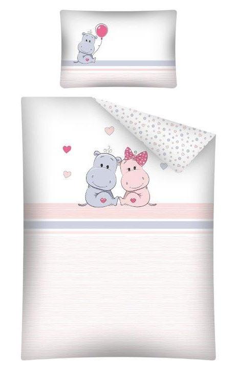 Dekbedovertrek Sweet Hippo