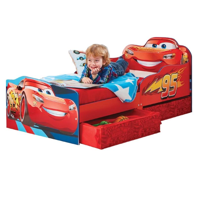 Disney Cars Junior Ledikant met Laden