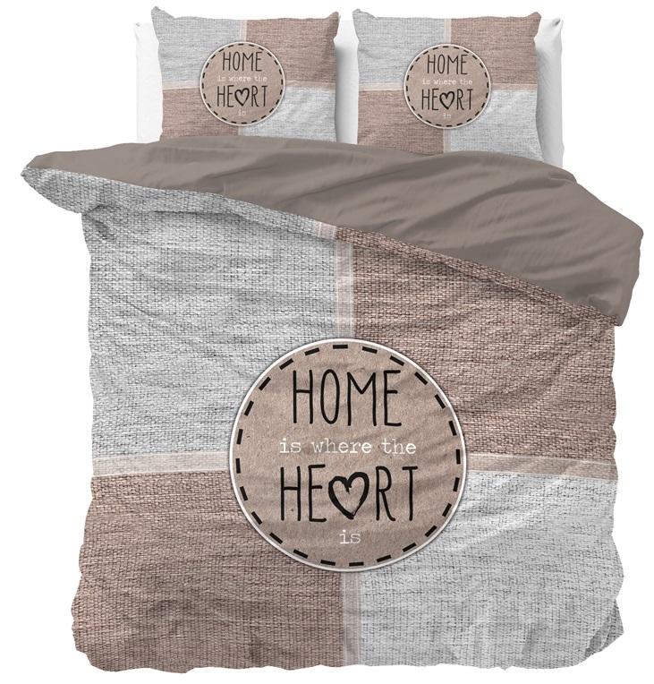 Dreamhouse Dekbedovertrek Knitted Home Heart 240x200 220