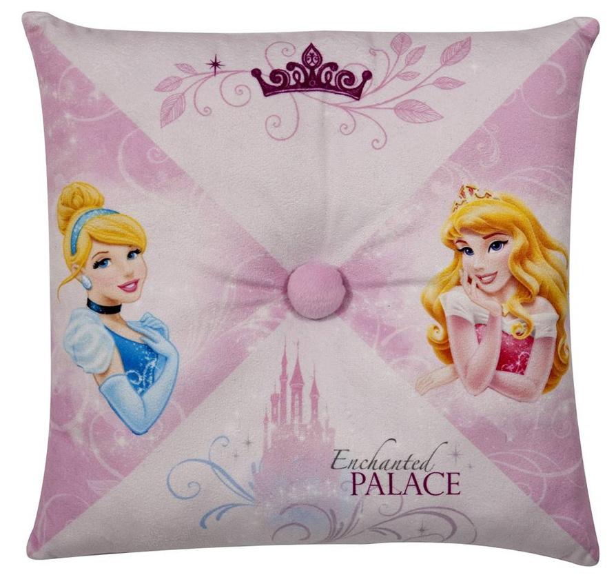 Disney Prinsessen Kussen met knoop 36x36cm