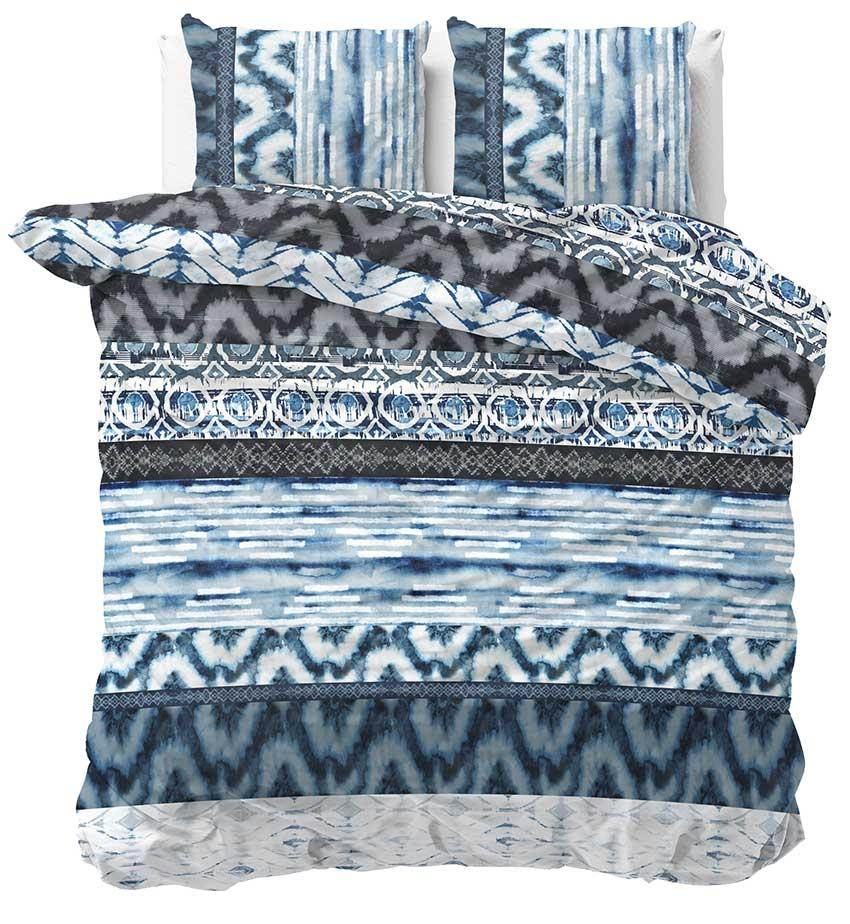 Sleeptime Dekbedovertrek Shibori Retro Blue 240x200 220