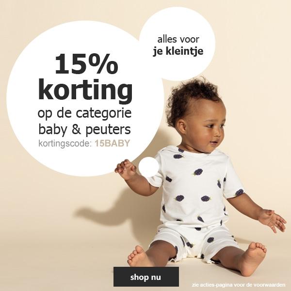 15% baby & peuter